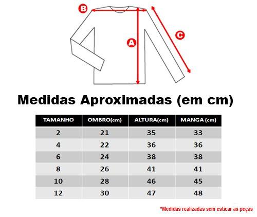 160ac574da Camisa Térmica Ginga M Longa Proteção Uv Infantil 80800 Azul - R  49 ...