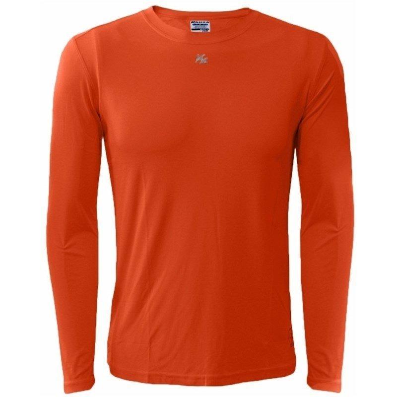 camisa térmica infantil com proteção solar uv 5875 - laranja. Carregando  zoom. 66524b022b0f6
