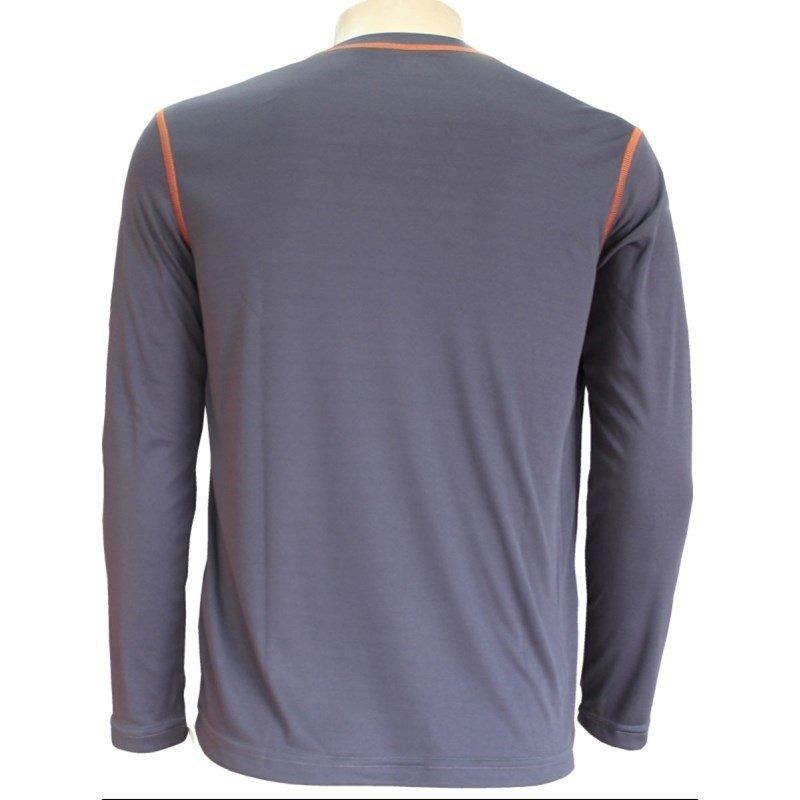 c8c4bbe8ab camisa térmica kanxa proteção uv+anti inseto 6707 - cinza. Carregando zoom.