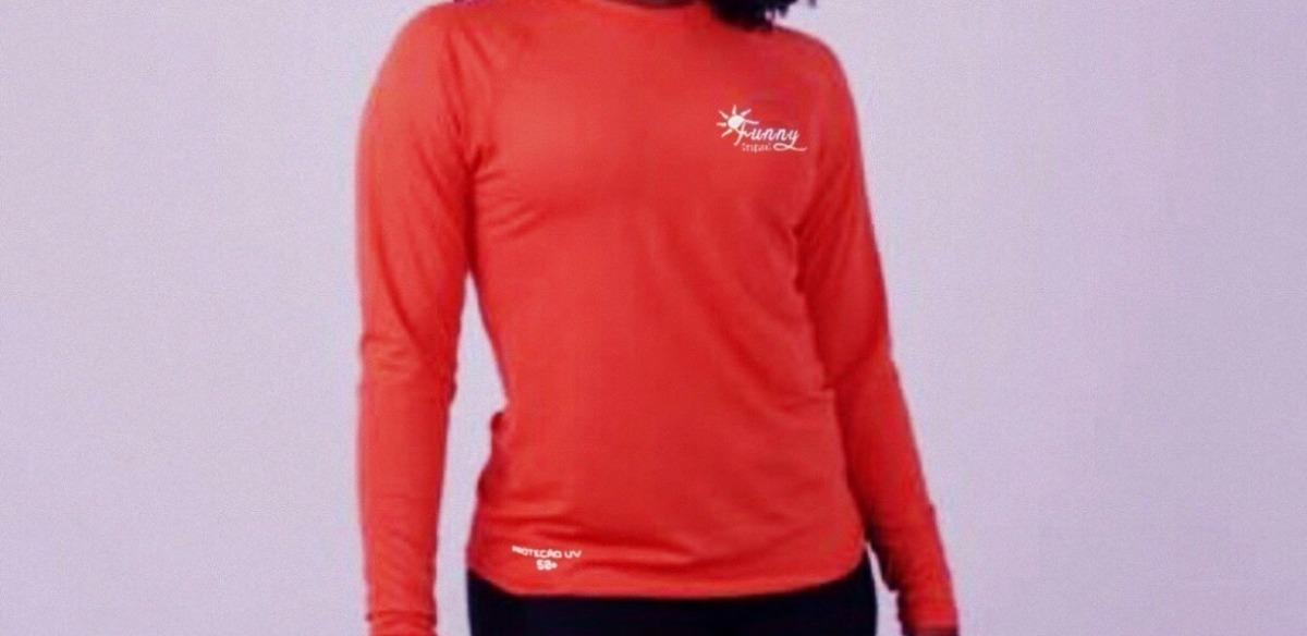 4b89219286585 camisa térmica longa segunda pele proteção uv original. Carregando zoom.