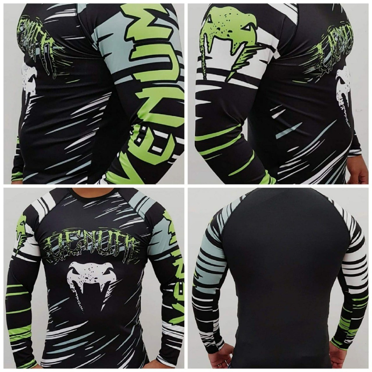 camisa térmica manga longa black skull promoção. Carregando zoom. 073927b2c56c6
