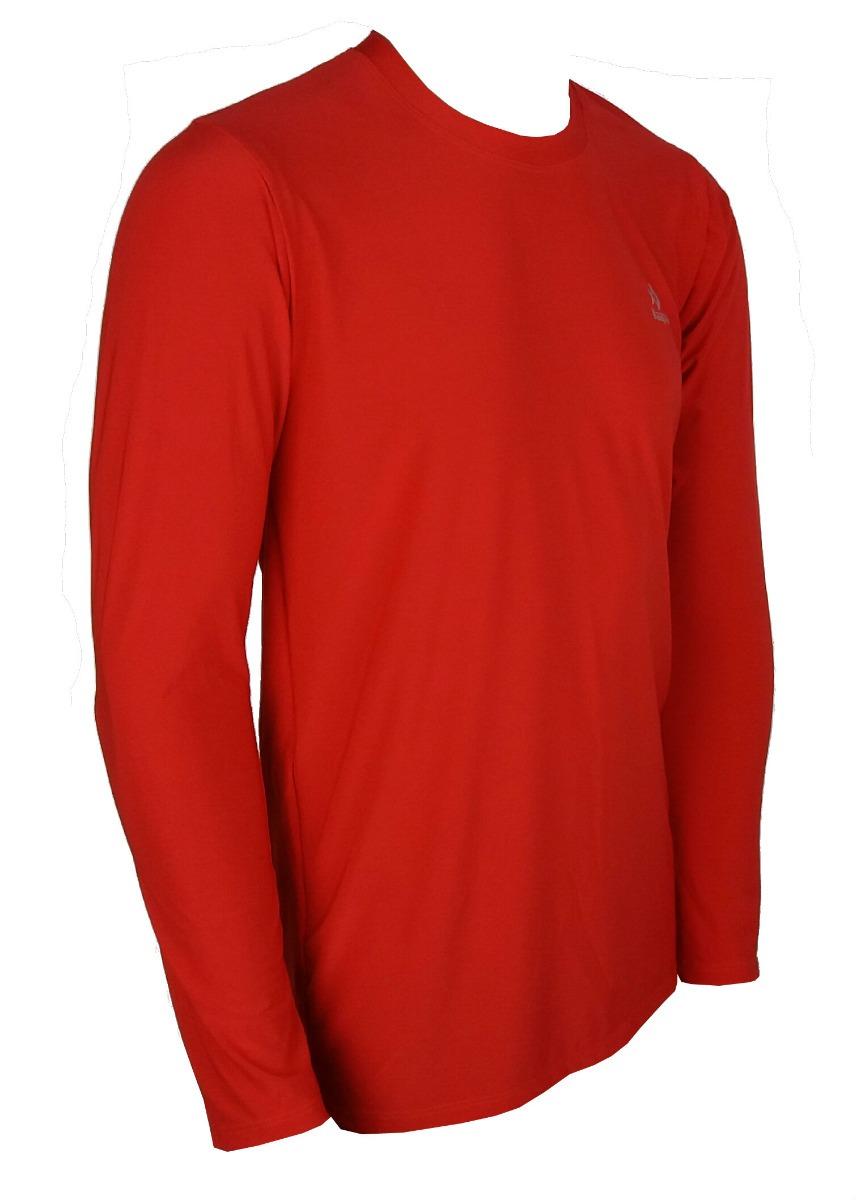 94541dafda camisa térmica masc. prot uv50+ kaapuã segunda pele vermelha. Carregando  zoom.