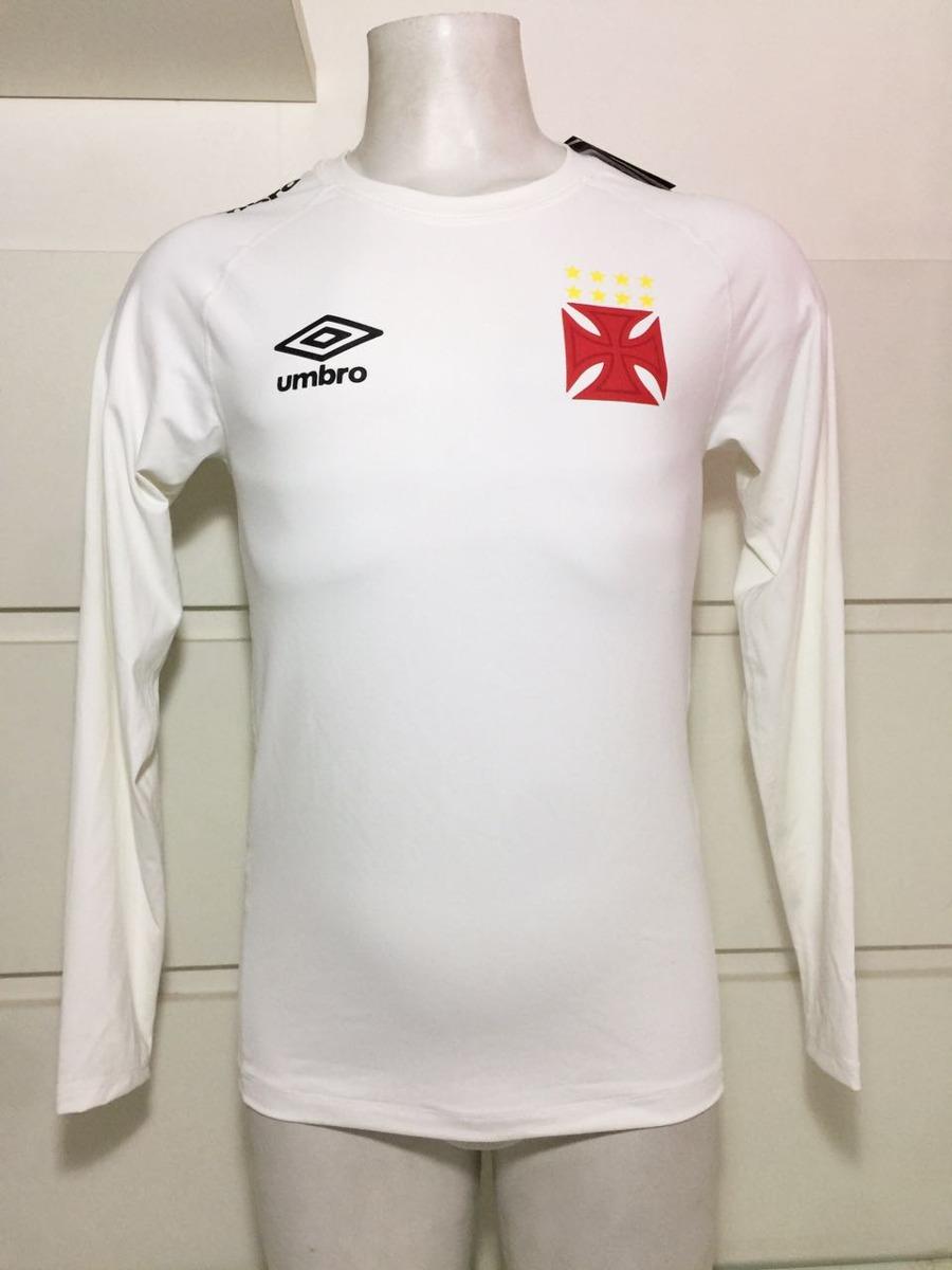 Camisa Térmica M l Original Vasco Umbro Exclusiva De Jogador - R ... 180e2b6f927b3