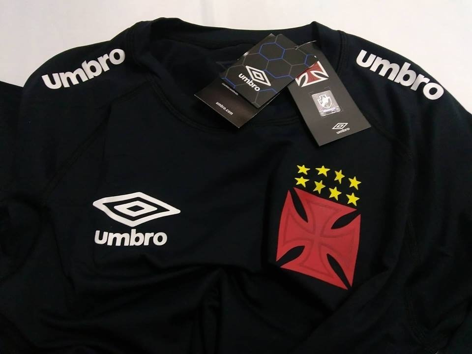 9d124c8ef8 Camisa Térmica M l Vasco Umbro Exclusiva De Jogador Origina - R  120 ...