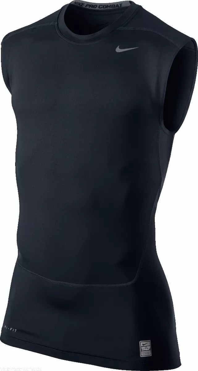 camisa termica nike pro combat regata - tamanho g v2mshop. Carregando zoom. 37e389e7e494b
