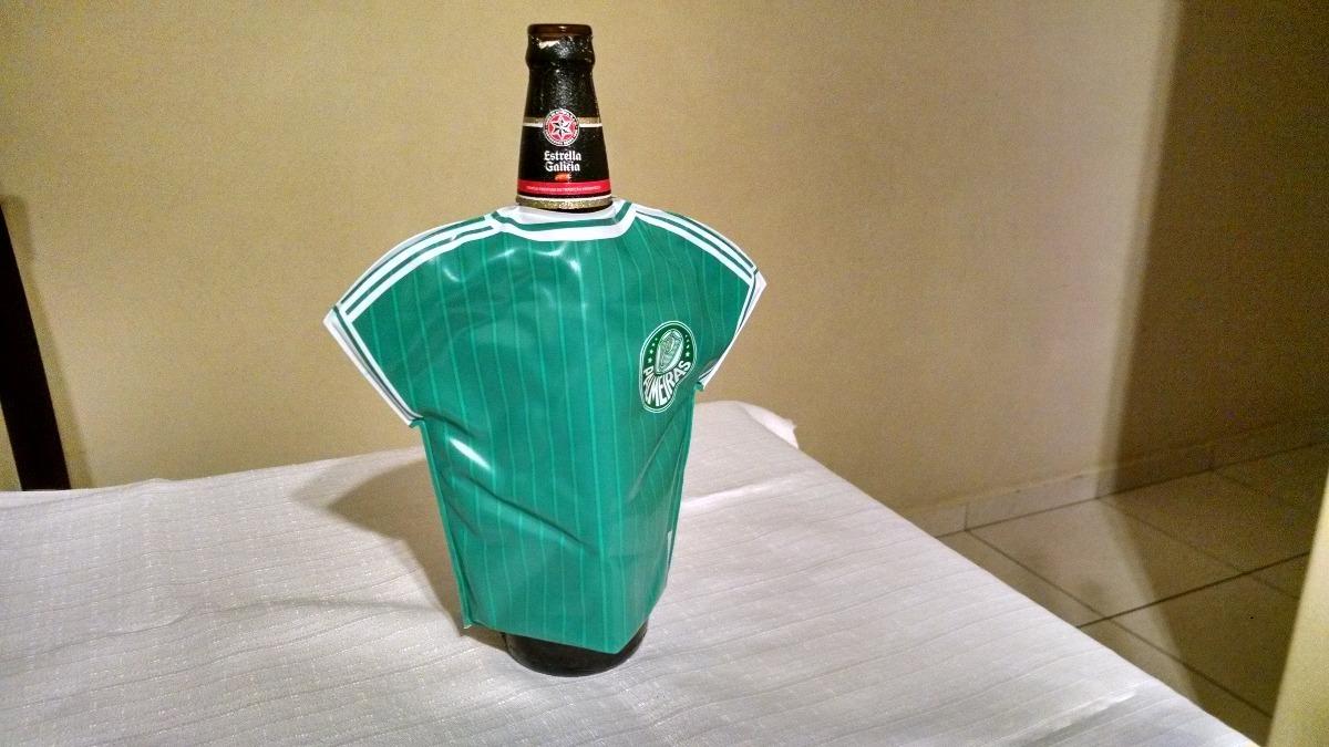 camisa térmica para garrafa de cerveja (600ml) palmeiras. Carregando zoom. 0e97a1353cbff
