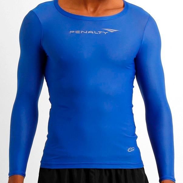 Camisa Térmica Penalty Compressão Matis Manga Longa - R  89 9dcbc11127d83