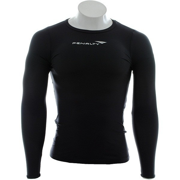 dfb422e701 Camisa Térmica Penalty Compressão Matis Manga Longa - Preta - R  89 ...