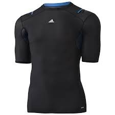 Camisa Térmica Preta E Azul adidas Adipower Tam P - R  89 c0e6228745877