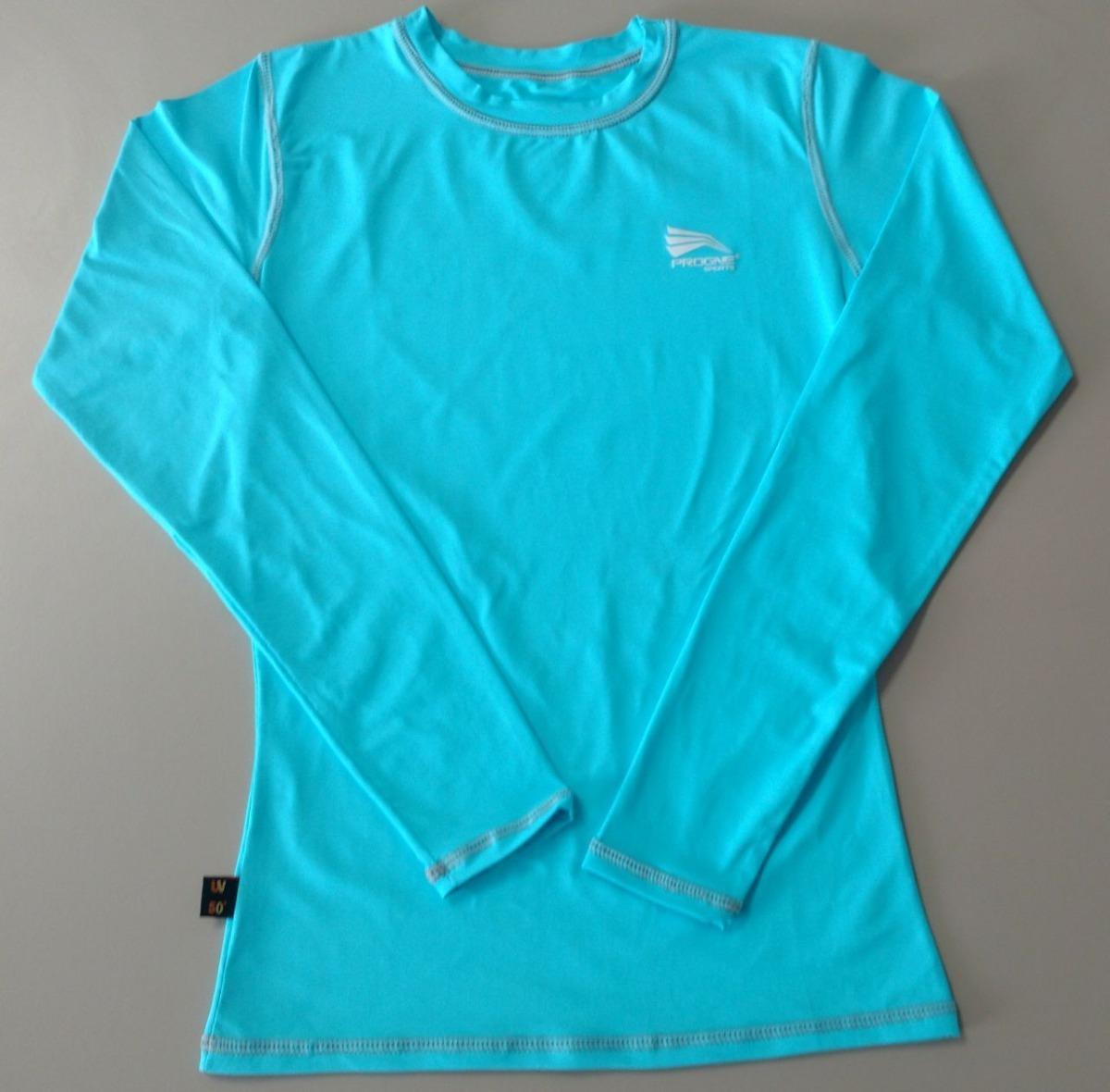 camisa térmica progne feminina sol piscina praia cores. Carregando zoom. 7725fe04f3d9f