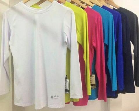 Camisa Termica Proteçao Uv Kit 5pçs Promoçao - R  76 7d7a192078a3d