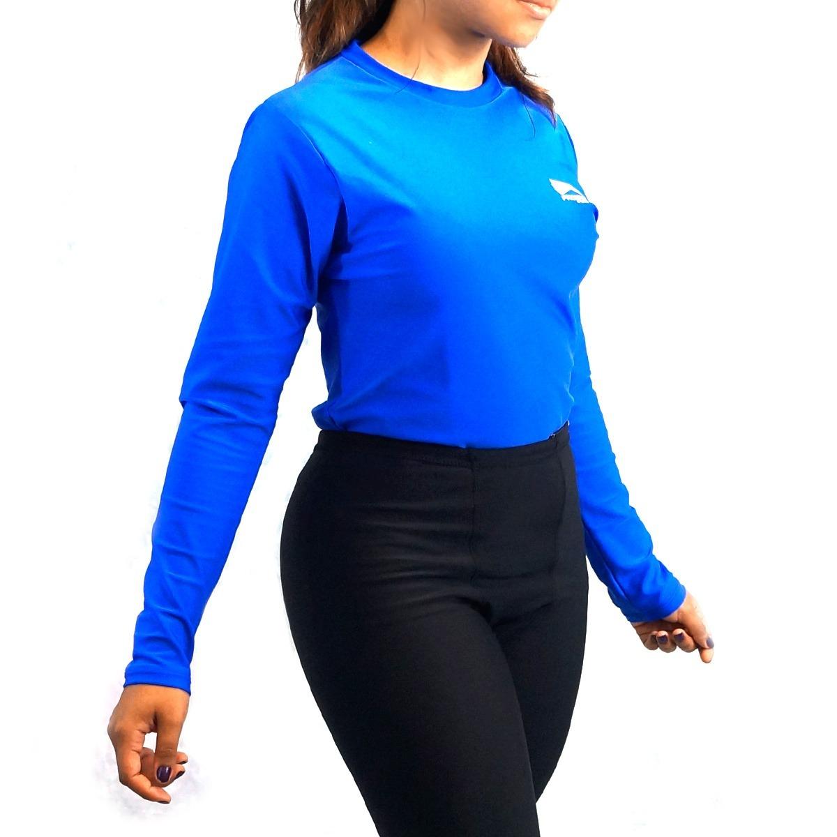 camisa térmica rash guard segunda pele proteção uv50 progne. Carregando zoom . 6c68287931051
