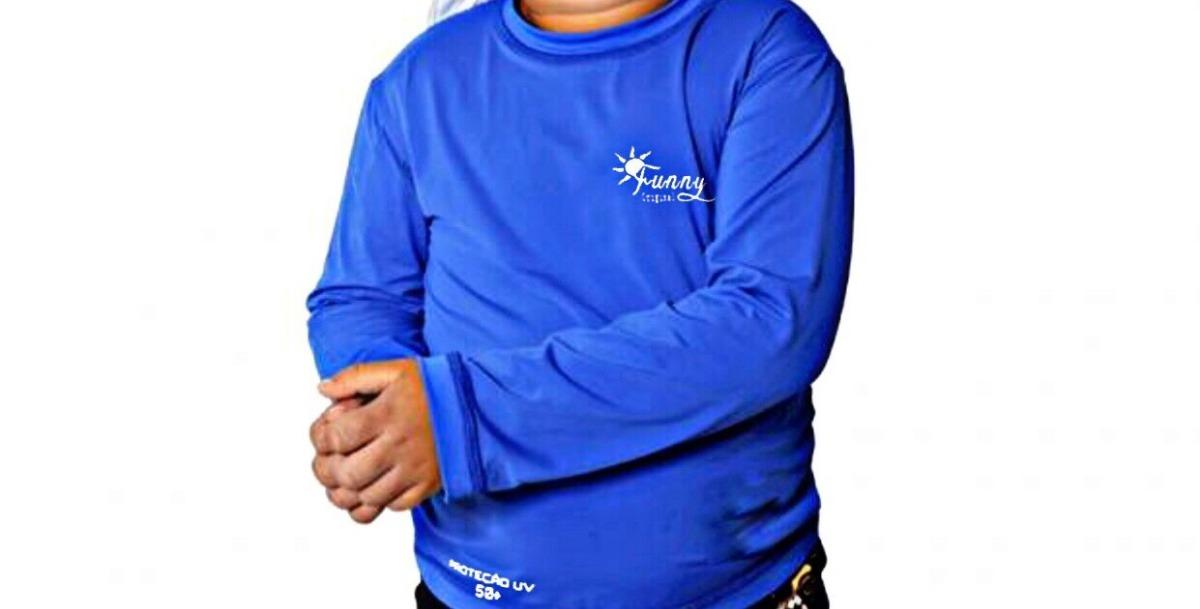 camisa térmica segunda pele infantil proteção solar uv 50. Carregando zoom. 51c9aff7918b6
