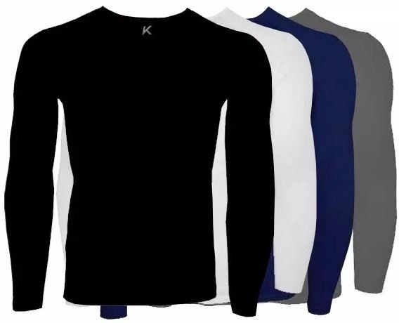 Camisa Térmica Segunda Pele Kanxa Manga Longa 2546 Inverno - R  69 ... 67be2122779a3