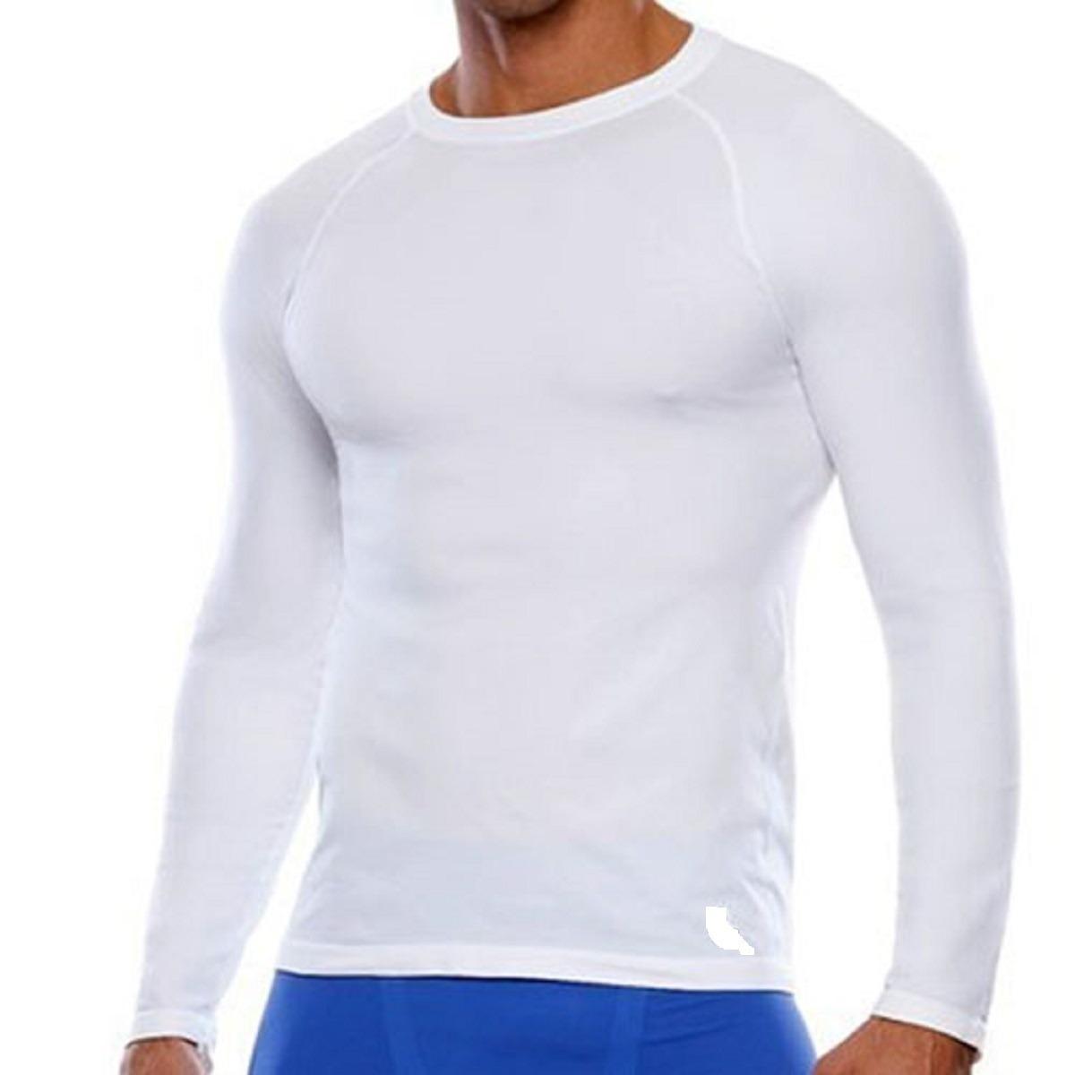 camisa térmica segunda pele lance esporte frio moderado. Carregando zoom. b062e3e6f8a0f