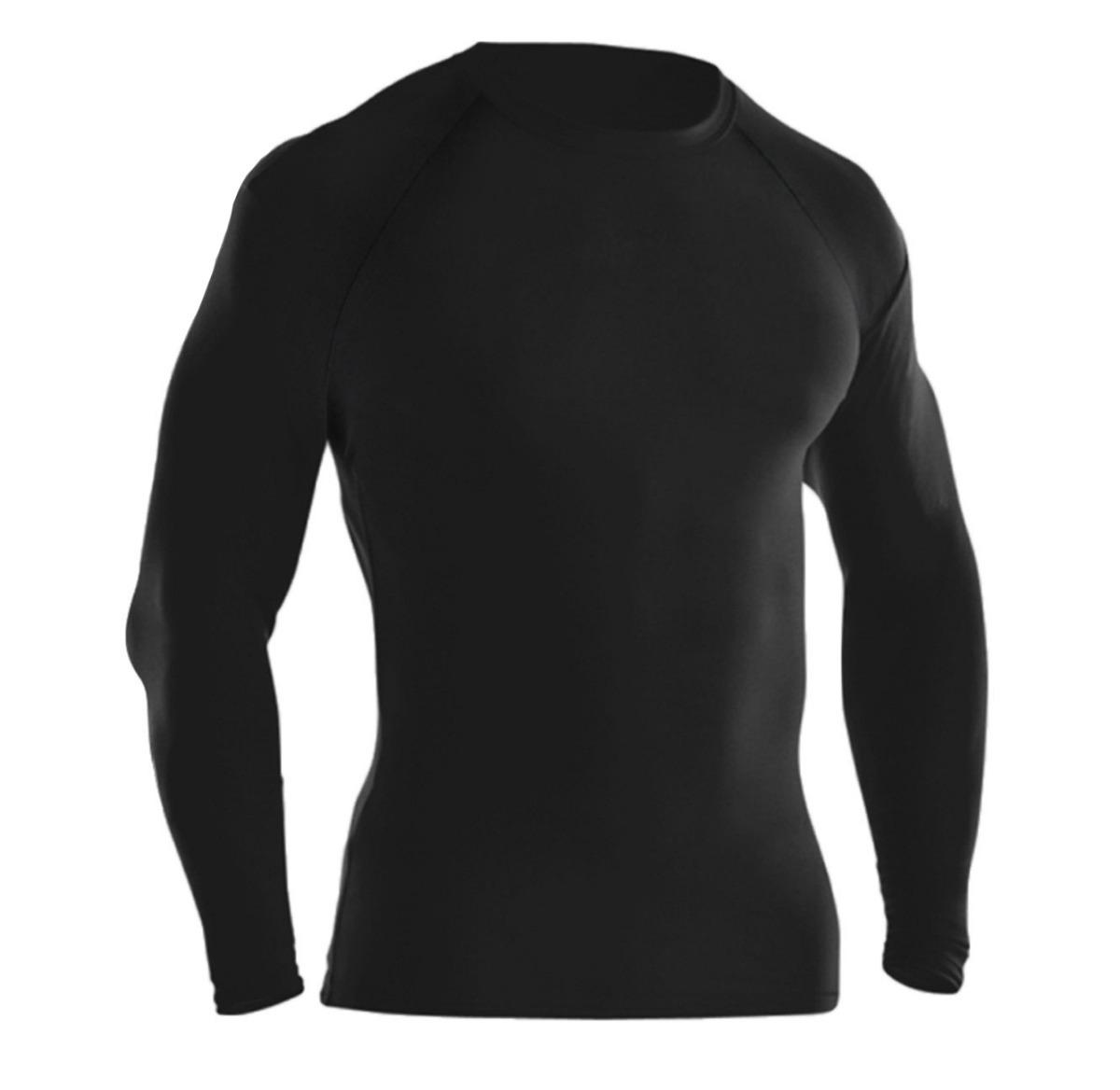 dacc0c9d6a Camisa Térmica Segunda Pele Manga Longa Com Proteção Uv - R  37