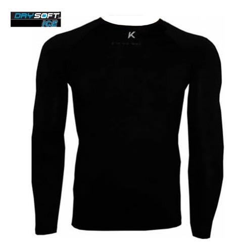 camisa termica segunda pele manga longa drysoft ice kanxa