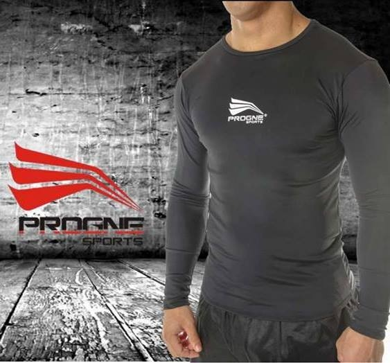 Camisa Térmica Segunda Pele Manga Longa Proteção Uv50 Progne - R  94 ... 8a0771f159adf