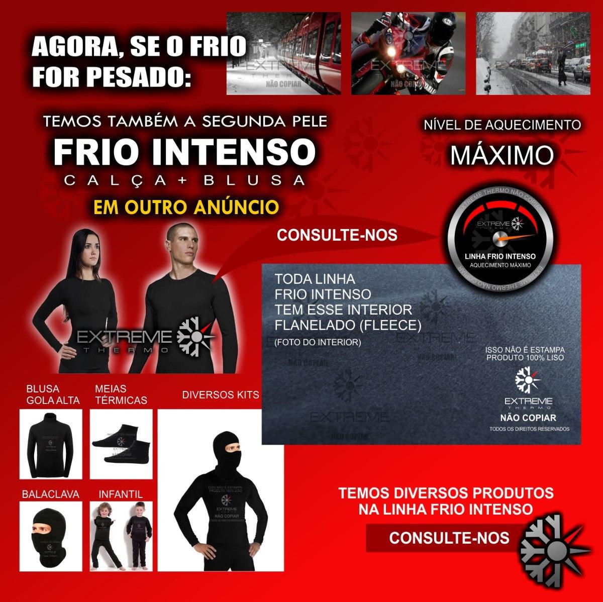 b4cd221c26 camisa térmica segunda pele térmica extreme thermo frio mod. Carregando  zoom.