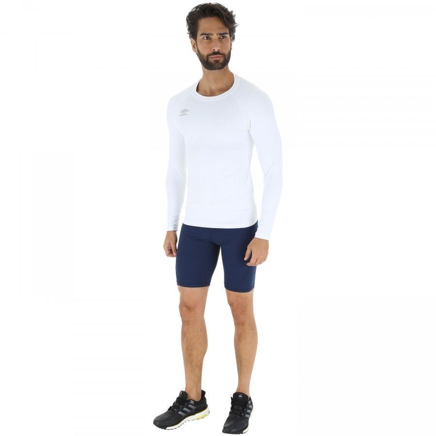 camisa térmica umbro twr graphic - masculina - branco. Carregando zoom. 2115dd6adf28a