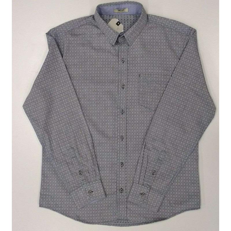 ec8805a036 Camisa Texturizada Hering H2f3 - Cinza - Delabela Calçados - R  116 ...
