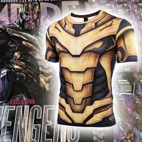 Camisa Thanos Vingadores Ultimato Marvel Exclusiva Compressã