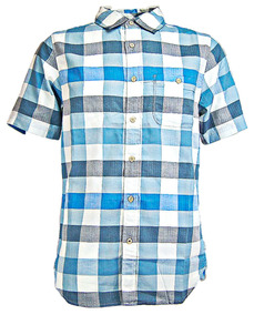 The North Face manga corta Camisa Tasman Plaid camisa, talla