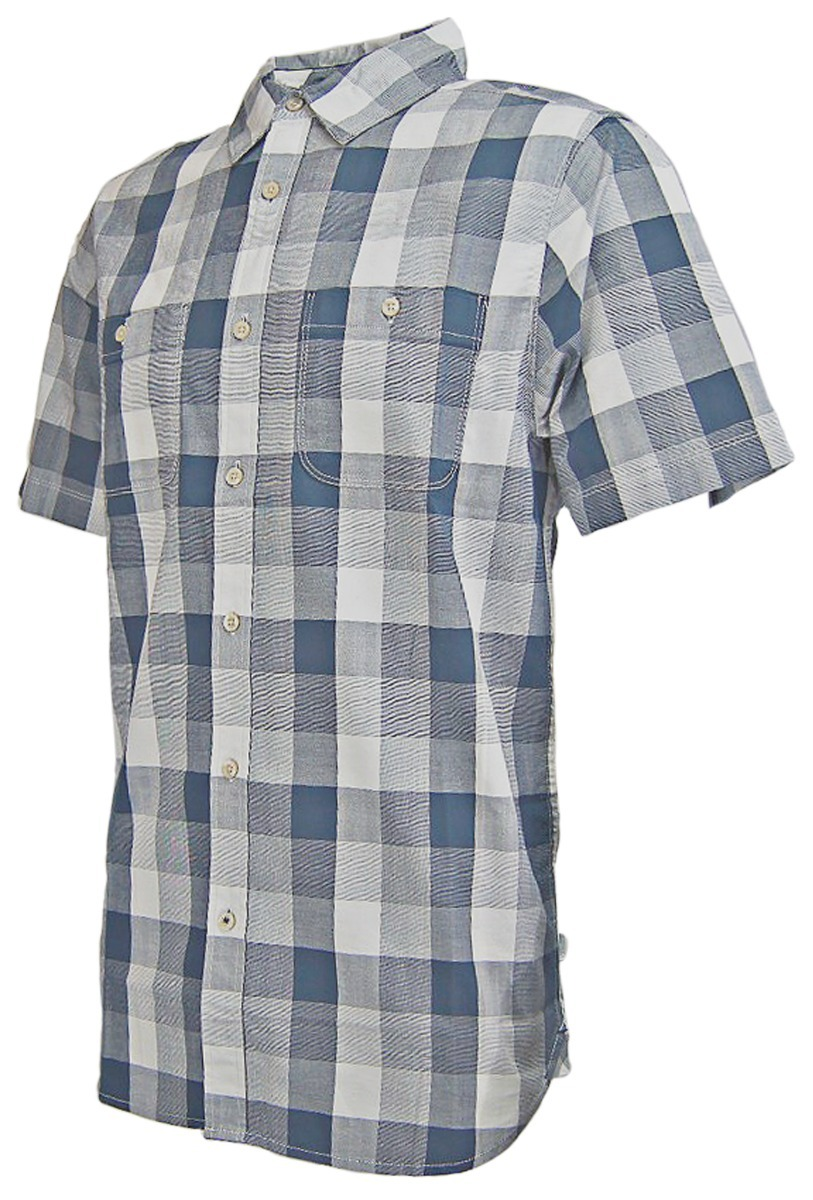e732fa028 Camisa The North Face M S/s Shadow Gingham Shirt Cosmic Blue
