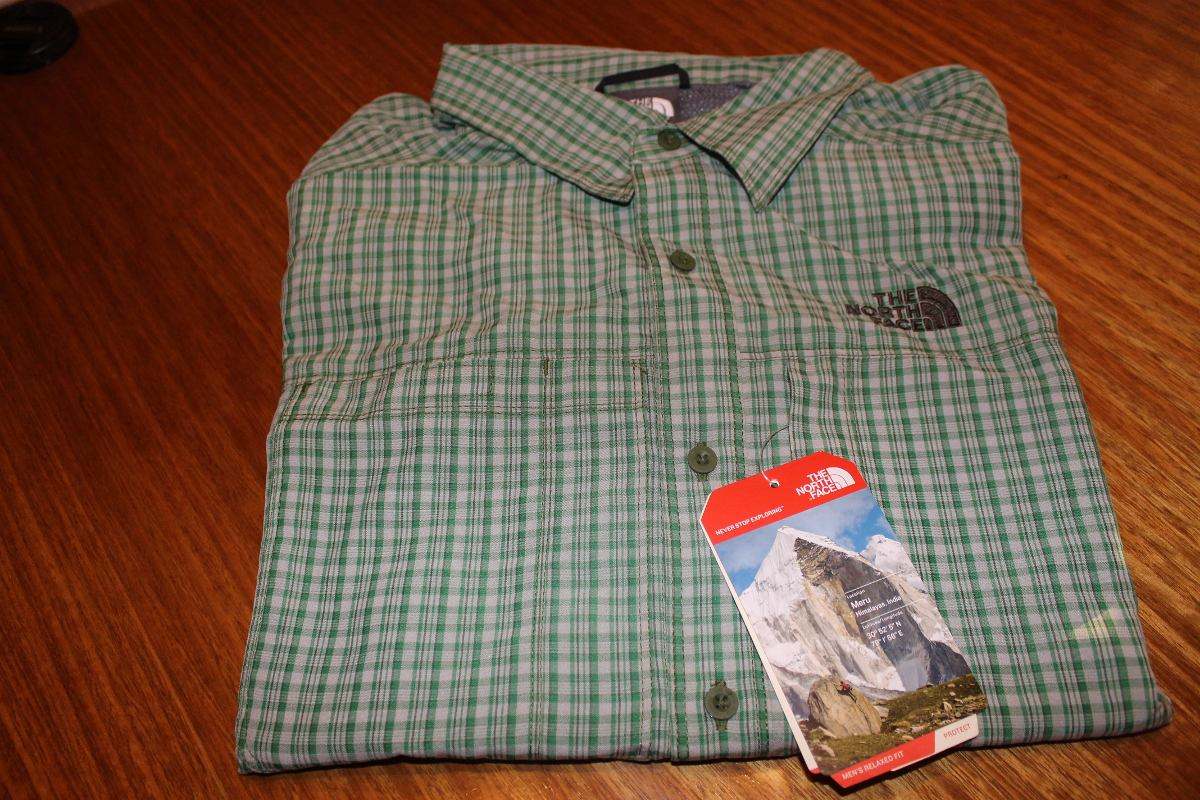 camisas the north face hombre