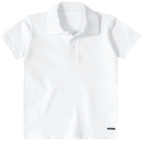 cf91a598d Camisa Tigor T. Tigre Pólo Bebê Menino Branco