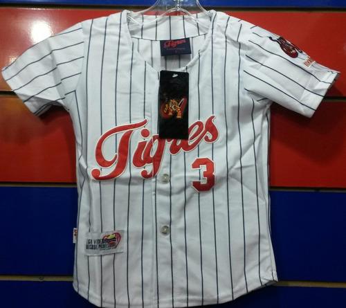 camisa tigres de aragua talla 2