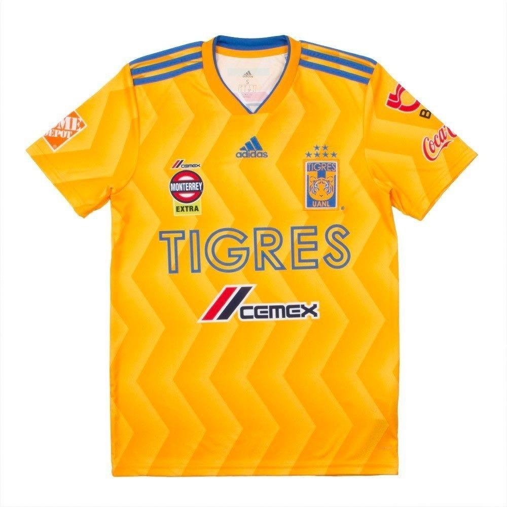 camisa tigres uniforme 1 2018 2019 frete grátis. Carregando zoom. 4172e4817bc38