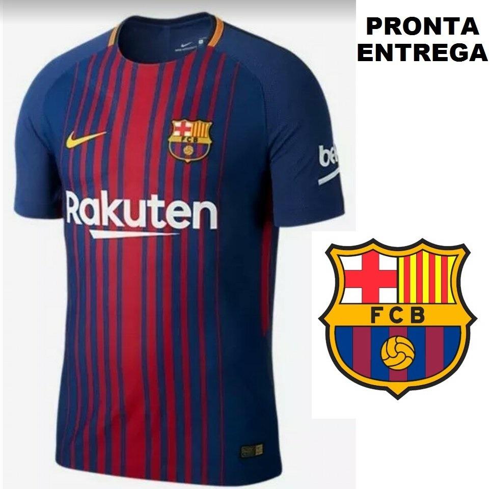 885ffb804df2b camisa time barcelona s nº 2017 2018 frete gratis. Carregando zoom.