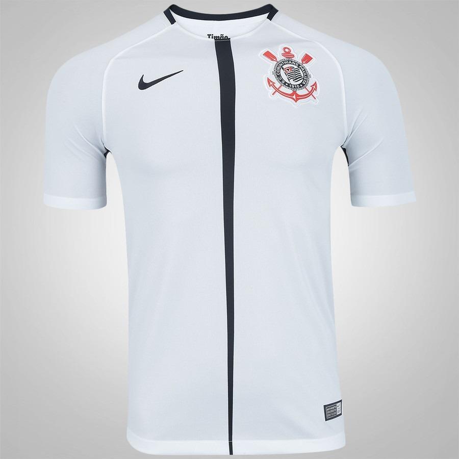 Blusa Camisa Preta Time Corinthians Masculino Foto Original - R  69 ... f02667543e1b3