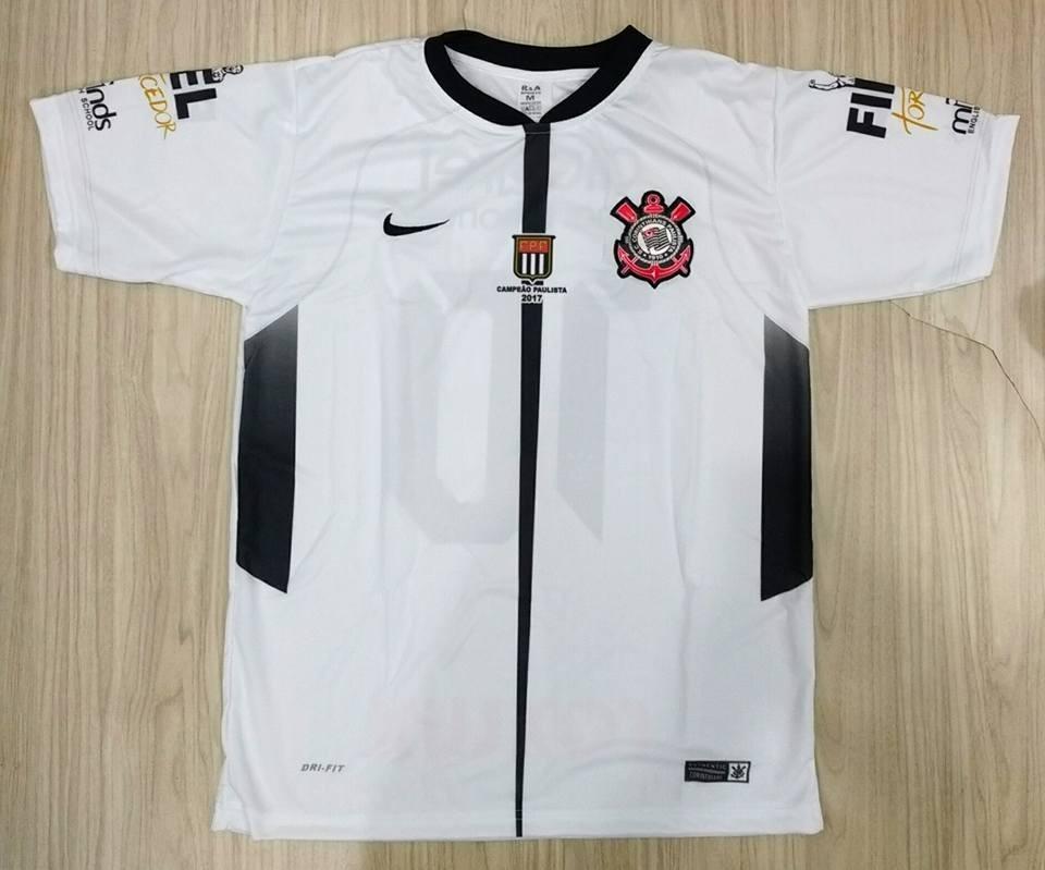 camisa time de futebol corinthians. Carregando zoom. 1c6a02abf75d0
