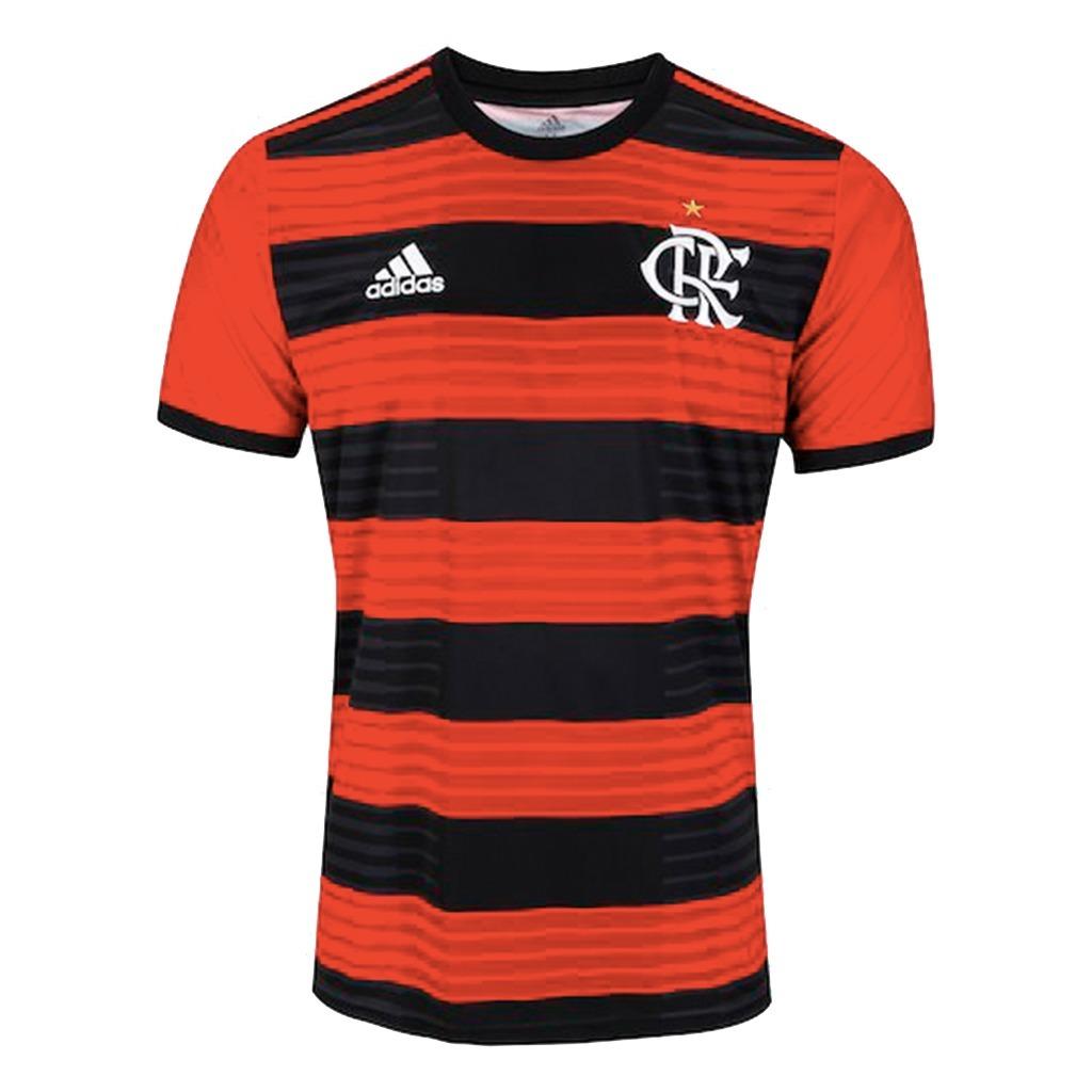 camisa time flamengo adidas 2018 original titular - s nº. Carregando zoom. 5fb7e9594069c