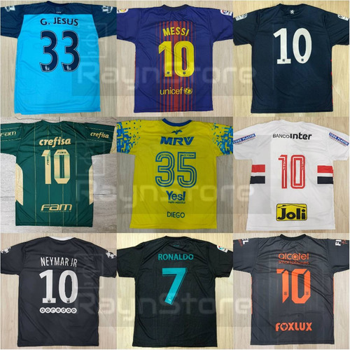 camisa time futebol