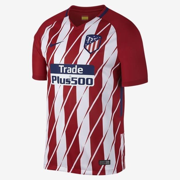 fd9a6d595d28b Camisa Time Futebol Atlético De Madrid Adulto Oficial Nike - R  120 ...