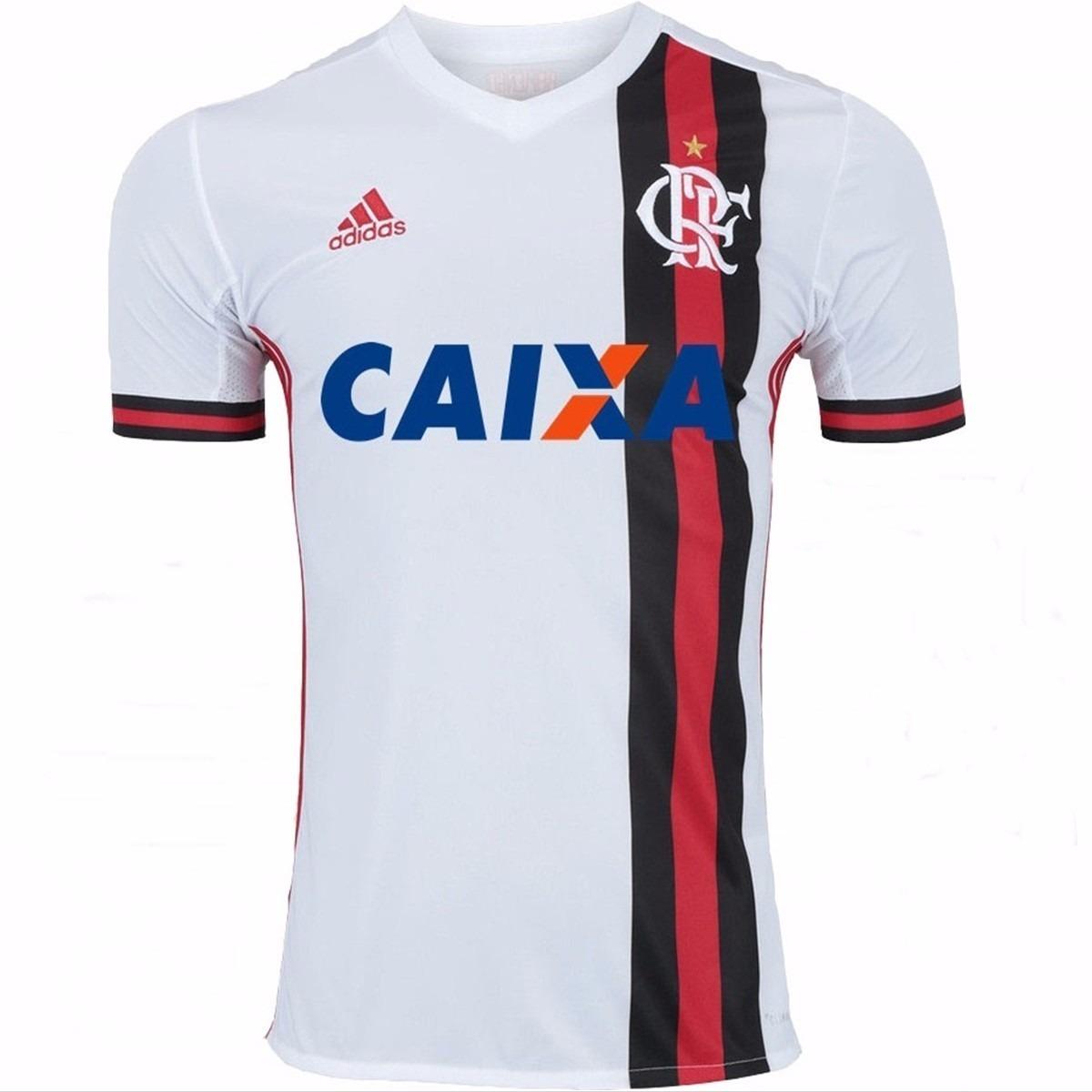 camisa time futebol flamengo adulto oficial adidas. Carregando zoom. 1b8ef5ae66346