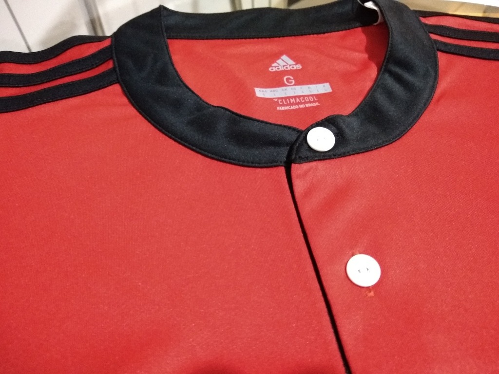 Camisa Oficial adidas Time Futebol Flamengo Brasil - R  140 add65e19c39d0