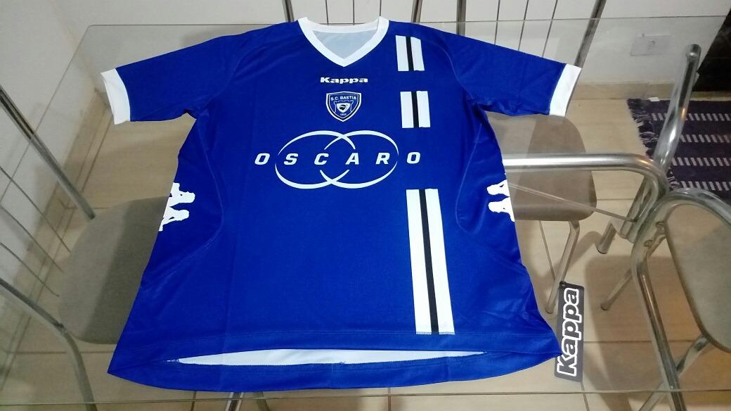 camisa time futebol kappa bastia frança oficial. Carregando zoom. eba1bfdf651ea