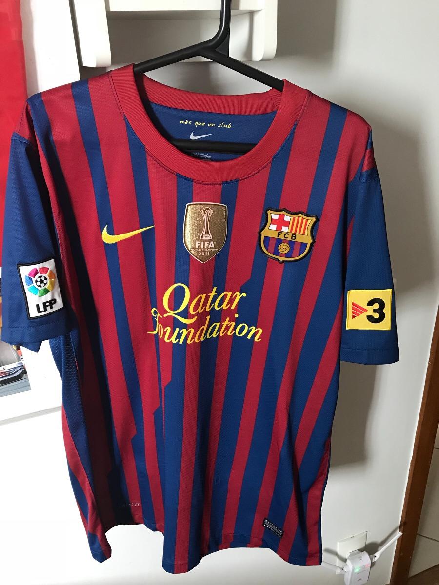 camisa time futebol nike barcelona original jogador piqué. Carregando zoom. ea479adcbf551