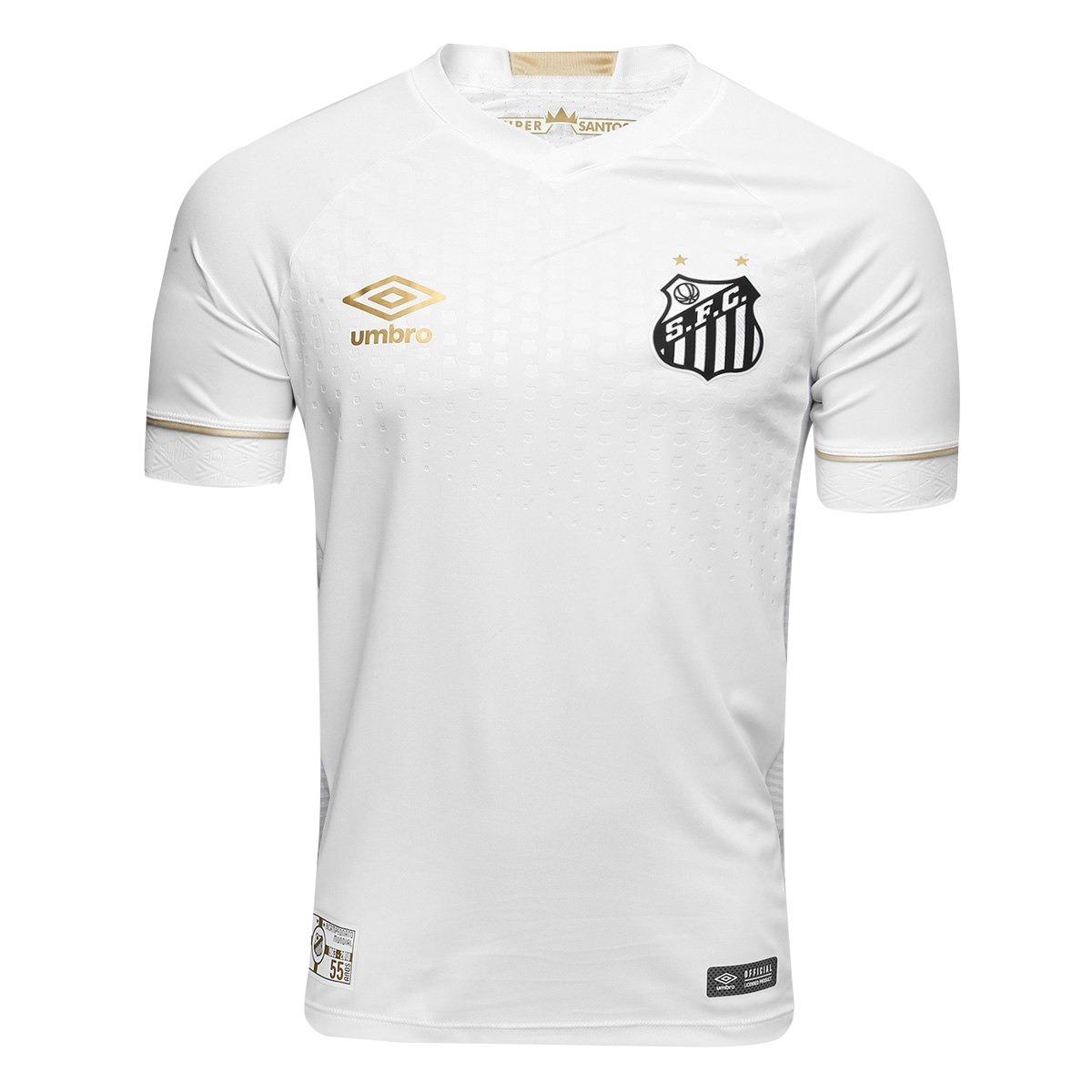 camisa time futebol santos peixe 2018 feminina. Carregando zoom. 8e3e1637b2f20