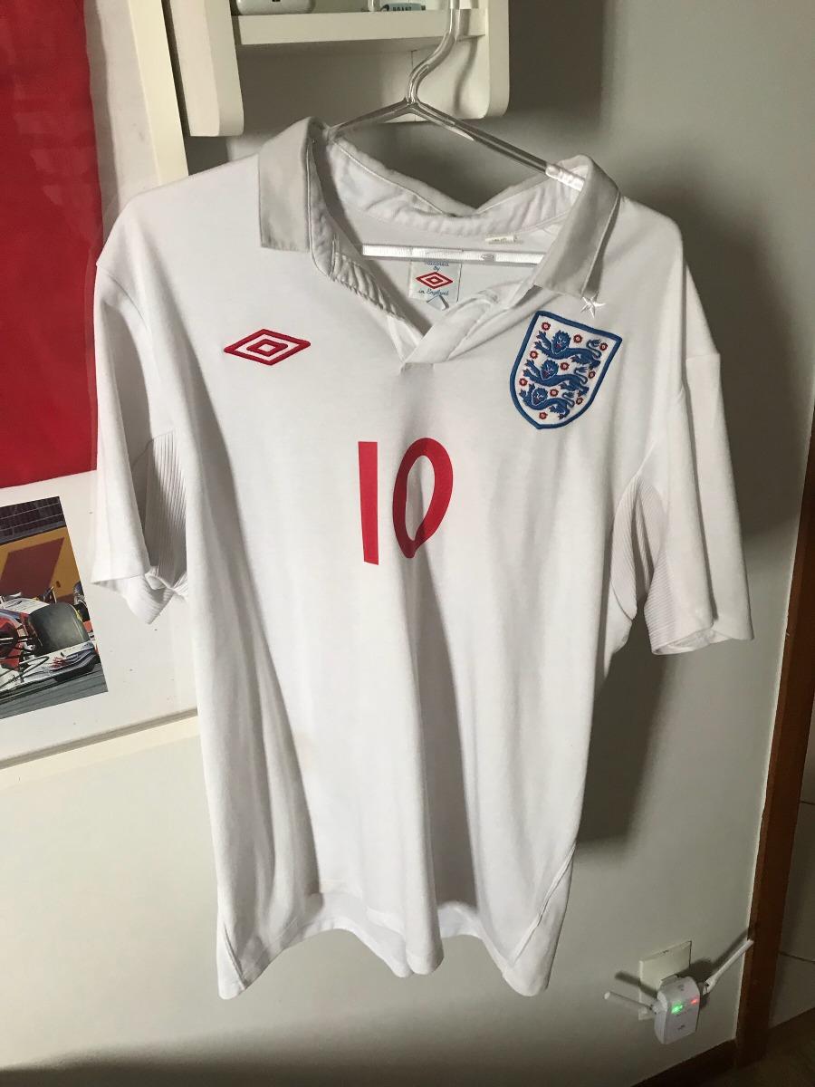 2d81201976 camisa time futebol umbro seleção inglaterra rooney original. Carregando  zoom.