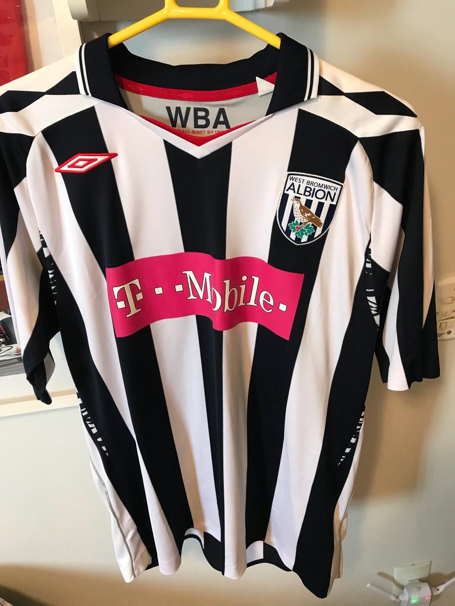 3723ddeb8d camisa time futebol umbro west bromwich original. Carregando zoom.