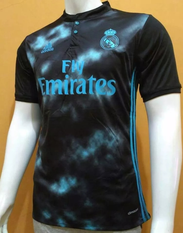 626d97629e Nova Camisa De Time adidas Real Madrid Away 2018 Lançamento - R  120 ...