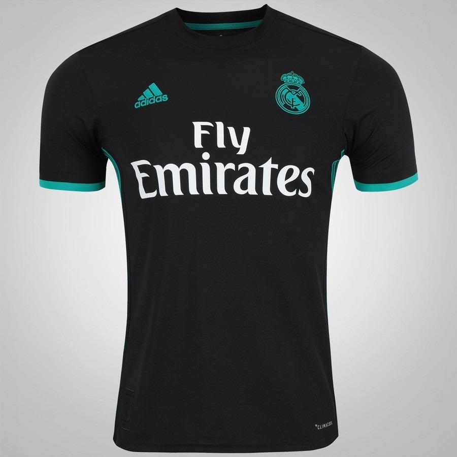 camisa time real madrid branca 2018 oficial torcedor. Carregando zoom. b82feaabb3c6e