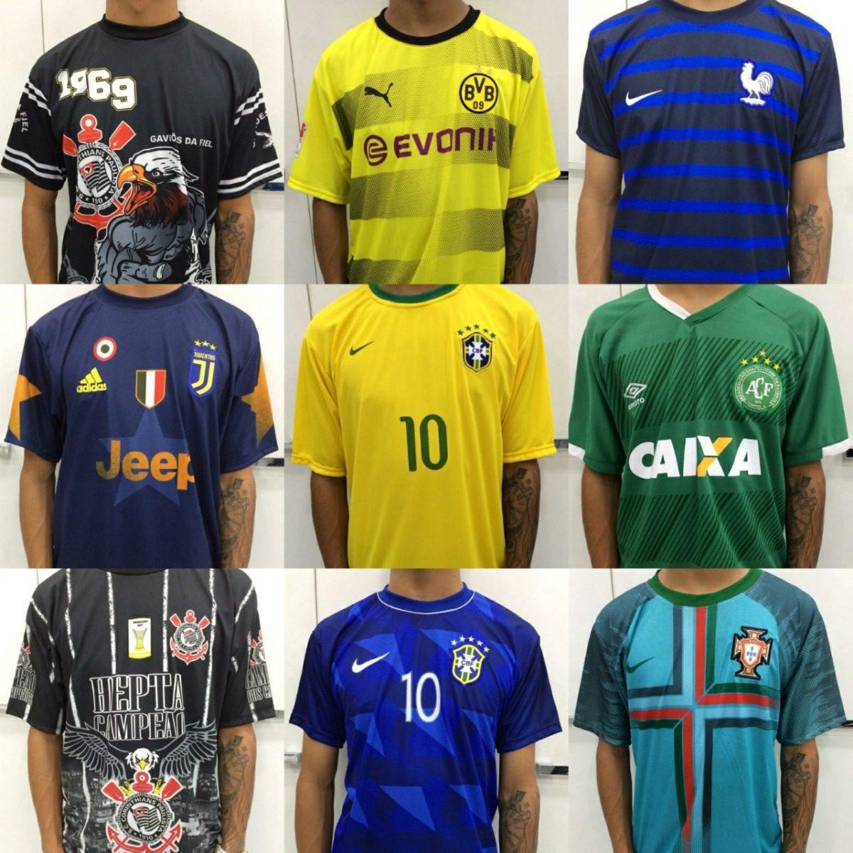 f38b96a717 camisa times nacionais e europeus camisetas atacado fabrica. Carregando  zoom.