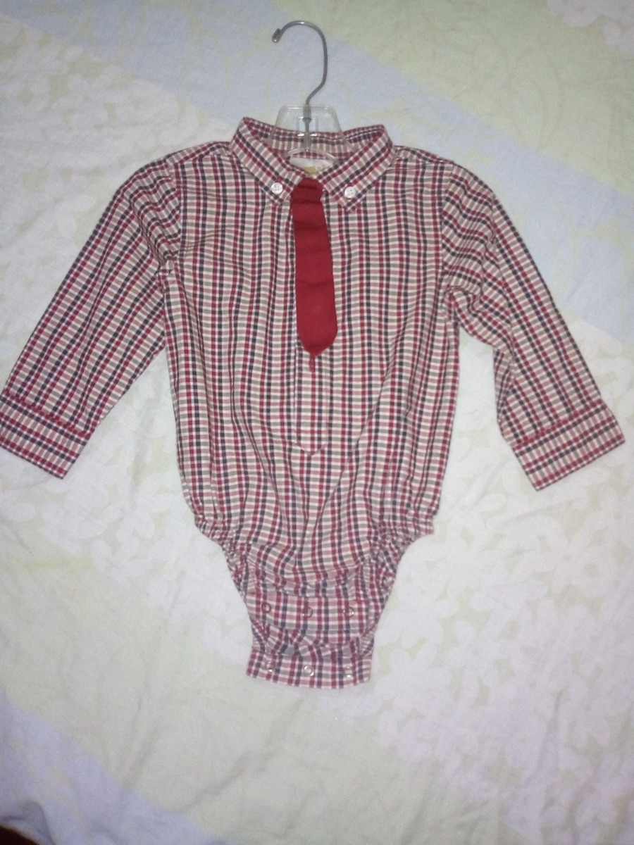 eeba8bb31 Camisa Tipo Body Para Bebes Talla 12 Meses Crazy 8 - Bs. 4.500,00 en ...