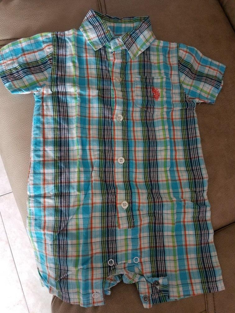 f3ac144a6 Camisa Tipo Body Para Niños Talla 12 Meses - Bs. 7.000,00 en Mercado ...